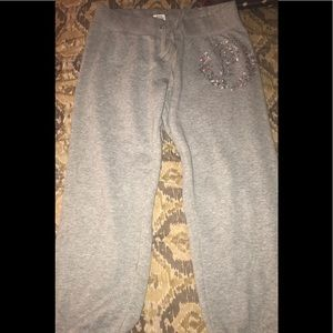 PINK sweat pants size Medium